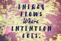 Intentional Living / Living intentionally.