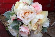 Silk flowers for weddings