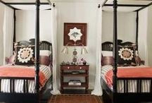 Guest room / All things guest room! Ways to make friends more comfy, while maximizing space.