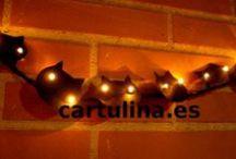 Halloween / Manualidades para Halloween http://cartulina.es/category/halloween/