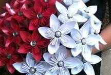 Creative / virágok, csokrok papírból