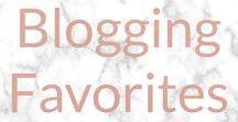 BLOGGING FAVORITES