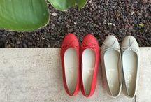Colección Bailarinas SS 2016 / Nueva colección calzado Spiffy Primavera Verano 2016. Bailarinas de piel con adorno lazo.
