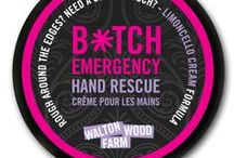 Hand Rescue / There isn't much that will make a woman feel prettier than pampering herself with bath and body products. Walton Wood Farm makes a number of bath salts, lotions, creams and more, all of which come in wonderfully aromatic scents that will make you smell and feel prettier than you have in a very long time.