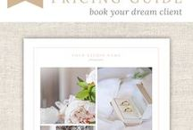 the Flying Muse marketing & design templates / Photography studio marketing templates for promotional brochures, studio magazines, promo cards, gift certificates, price lists, and more by THE FLYING MUSE http://theflyingmuse.co