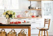 KITCHEN design / All about living in your kitchen.