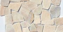 """XL Mosaic Stone Tile / Stone mosaics, the traditional tile favorite of designers, are now available in large format. Same quality materials and easy install as our regular mosaic tiles - now designed for use when covering large spaces. These tiles are bigger (19.5"""" x 19.5"""") to decrease labor and seam lines, transforming any commercial or home environment into a paradise."""