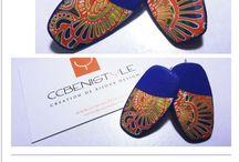 Création de bijoux en argile polymère By CCBenistyle / Bijoux fantaisie en argile polymère (pâte polymère ou fimo)
