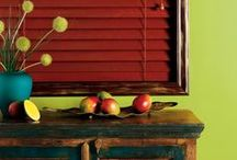 """Venetian Blinds / We offer high quality wood, aluminum or PVC horizontal venetian blinds, ideal for controlling daylight while maintaining privacy. Our wood collection comes in 2"""" or 1"""" and is available in custom coloring options."""