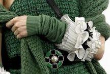 verde e bianco/argento