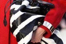 rosso bianco e nero