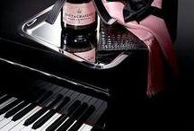 bianco nero e rosa/fucsia