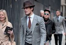 Street Style / A collection of the best menswear style inspiration from dapper gents about town.