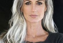 Grey Hair / Hair care, makeup, style tips & more for those with gray hair   Coloursplash! home hair color system helping women with fading color & gray roots • Professional coloring tips for shiny, healthy hair   ColourSplashHair.com