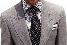 Dots / Pin-dot and polka-dot neckties, pocket squares, and other menswear accessories.