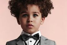 Kid's Ties: Affordable Boys Fashion / Kid's style inspiration and a collection of kid's sized neck ties and bow ties.