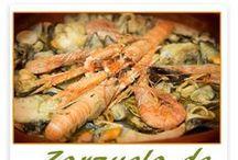 Mis recetas de pescados y mariscos / Recetas tradicionales de pescados y mariscos.