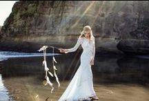 bohemian bride / bohemian wedding inspiration