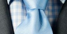Light Blue Tie Inspiration / All things light and baby blue ties and bow ties!