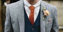Style it With Orange | Menswear Inspiration / Inspiration for all your orange suits, neckties, and bow ties.