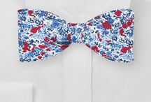 Flower Power / Stop and smell the roses! Inspiration for all things floral neckties, bow ties, and pocket squares.