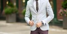 Burgundy and Dark Red Men's Neckwear | Style Inspiration