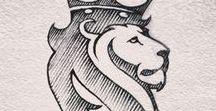 Logos e Caligrafias.