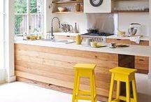 HOME : Kitchen Dreams / kitchens, decor, design, minimal, farmhouse, rustic, classic, chic, white, brass, gold, modern, mix, sinks, faucets, stoves, backsplash, marble, granite, quartz, eat-in, countertops, cabinets, island, storage