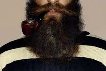 Beards / Mustaches  /  I do not own any of these lovely images.