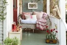 Porch & Patio  / Ideas for outdoor living / by Antique Garden