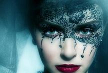 Masquerade! Seething shadows breathing lies.