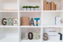 HOME : Beautiful Storage / storage, books, linen, closet, armoire, shelves, shelving, open, organized, styled, book shelves, open shelves, floating shelves,