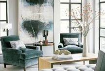Blue   ♥... / Para se iniciar uma decoração o primeiro passo é decidir qual é o estilo que será aplicado e quais as cores que serão utilizadas. Aí sim, a partir  disto, virão os móveis, objetos, peças e demais elementos. O sucesso da decoração está na composição de todos estes elementos, que deverá trazer beleza e harmonia ao ambiente.