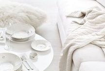 HOME : Texture Not Color / neutral, texture, whites, gray, grey, knit, natural, weaves, woven, fabrics, throws
