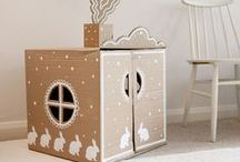 KIDS : Play All Day / Playroom, play time, creative, fort, cardboard, playhouse, playset, kitchen, lemonade stand