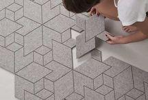 HOME : Floored Me / Flooring, wood, tile, concrete, herringbone, patterns, parquet