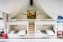 KIDS : Bunk With Me / bunk beds, loft beds, built-in beds, sleepover