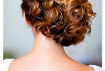 WEDDING : Bridal Hair / the perfect wedding hairstyle, beautiful, bridal hair and make-up, wedding party, wedding day, wedding hair ideas, Classic & Formal Hair, bridal upstyle, updo, traditional choice,  classic bun, styled, bouffant-inspired,Bridal up-dos, loose wavy tendrils, bridal half up do, elegant, romantic, stylish, veils, flowers and bridal hair accessories.