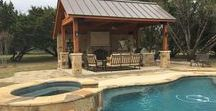 Austin Poolside Outdoor Living Structures / We specialize in cutting-edge, one-of-a-kind poolside outdoor living designs for the way you want to live outdoors.