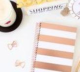 bloom® Trends: Rose Gold / Rosé all day with these amazing products! We love adding rose gold to our products including planners, accents on products and some binding! Check out all these rose gold accessories that will pair perfectly with your rose gold stripes planner