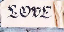 Lettering | Fraktur / Fraktur, Gothic style calligraphy