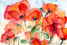 Watercolor Art / Art Made With Watercolors