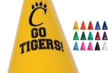 Fan Favorites / Here is what everyone is cheering about!! We know how to please the Crowd. These are some of our Best Sellers for Booster Clubs, Fundraisers, School Stores, Spirit Shops. Visit www.schoolspiritstore.com for more information.