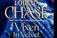 Vixen in Velvet / Book #3 in the Dressmakers series.  Leonie's story.