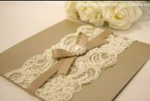Elegant Lace / The beautiful artwork of lace can be found in dresses, blouses, and lingerie.  
