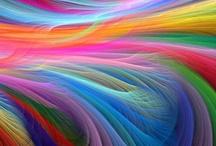Zelfgetrokken Rainbows / by Jill Derycke