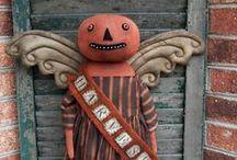 Prim Halloween & Fall / by Linda Kurzynski