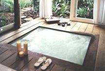 Hot tub time machine. / I'm getting a spa some day soon.