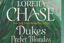 Dukes Prefer Blondes / A spinoff of the Dressmakers series, in which Lady Clara discovers her Happily Ever After in a most unlikely place.
