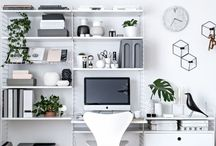 HOME / Office / HOME / Office. Inspiration and ideas for creating the perfect office to boost productivity, and help keep us organised alongside organisational tips and tricks.